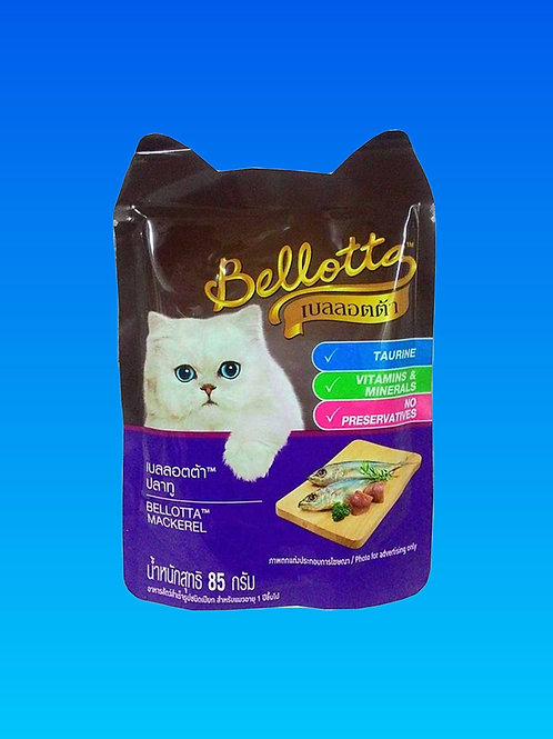 Bellota Mackerel Wet Cat Food 85 gms