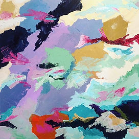 Developments, Acrylic on canvas, 80cm x