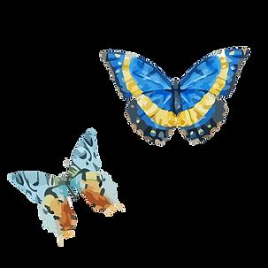 Vattenfärg fjäril 6