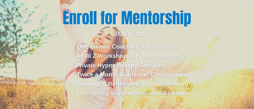 Enroll for Mentorship