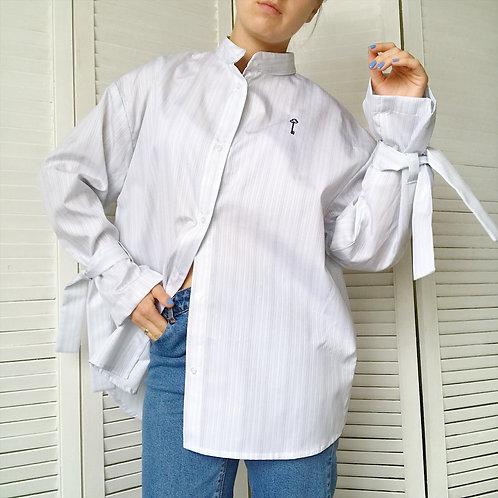 Рубашка с вышивкой «ключ»