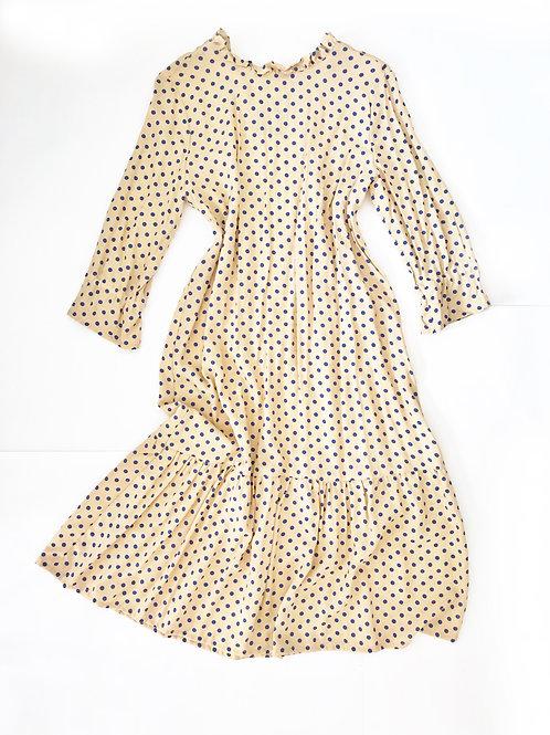 Платье в горох.