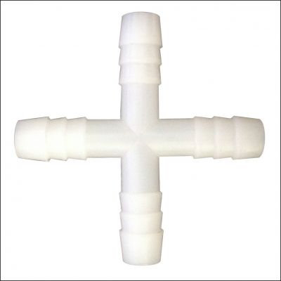 Крестовина для шланга 8мм
