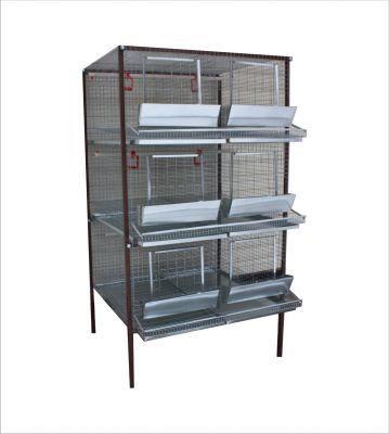 Клетка для кур-несушек или бройлеров 2-3