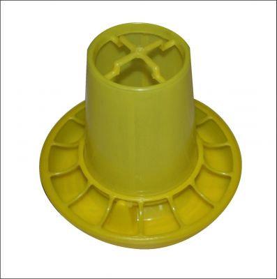 Кормушка жёлтая на 1 кг