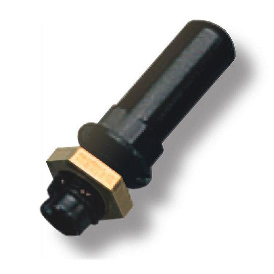 Выпускной переходник D 10 мм с латунной гайкой