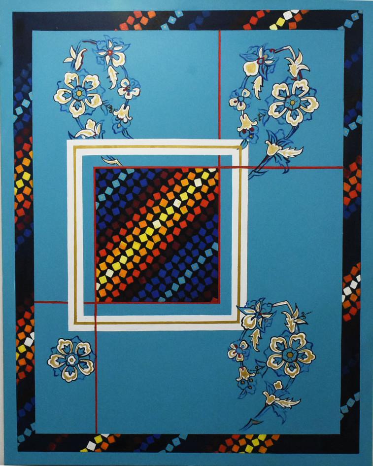 Bakhtiari motifs in modern  perspective,