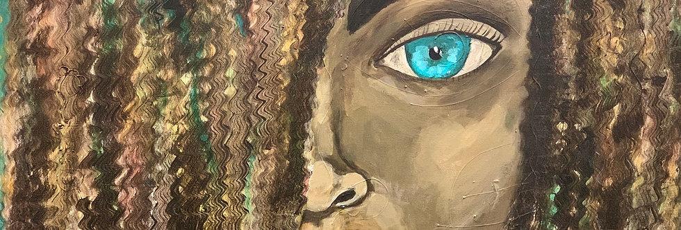Light in her   eyes