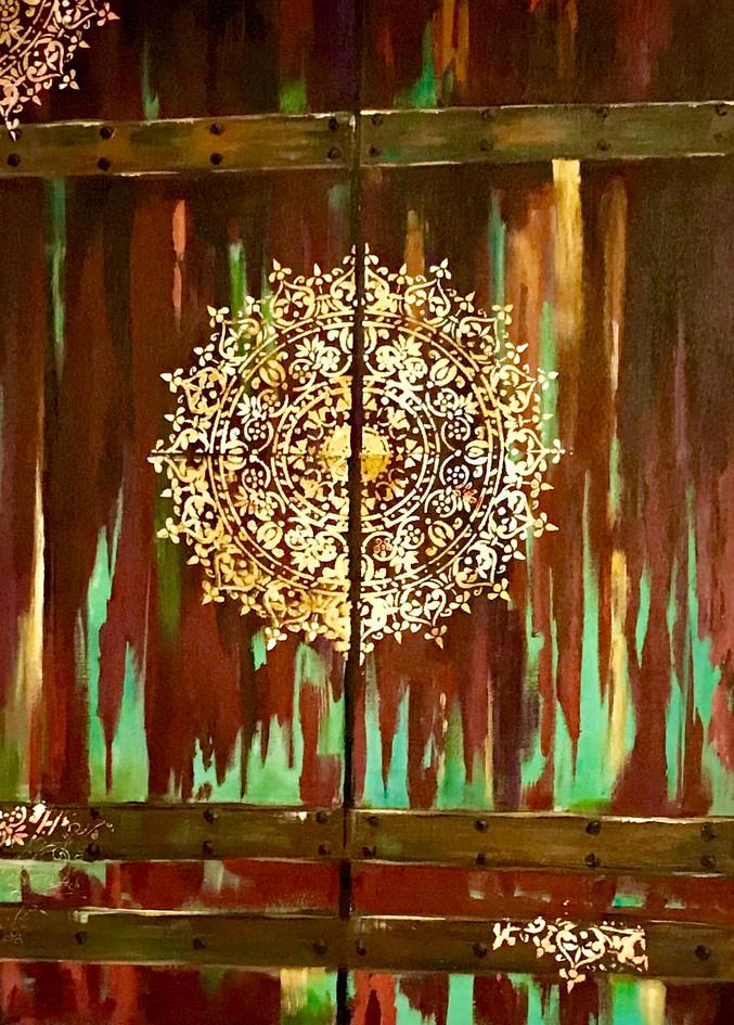 Untitled, acrylic on canvas, 60 x  80cm,