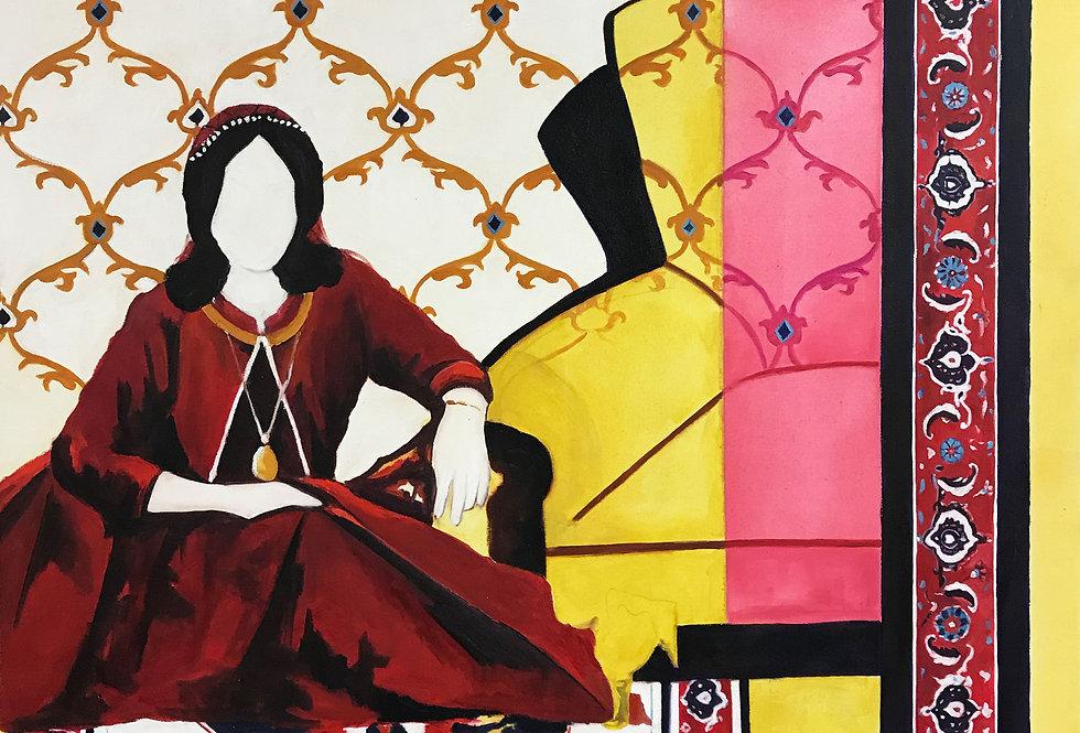 Modern perspective of   Bakhtiari woman