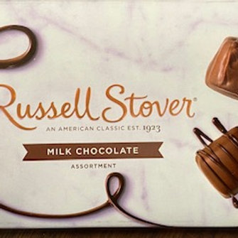 Boxed Russell Stover Milk Chocolate