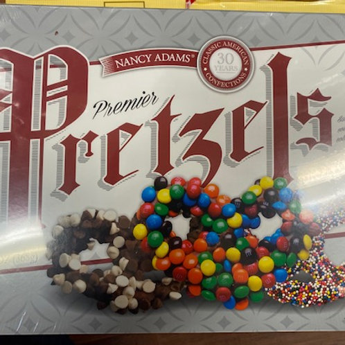 Boxed Nancy Adams' Candy Coated Pretzel Knots