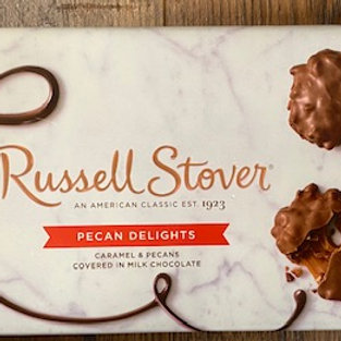 Boxed Russell Stover Pecan Delights