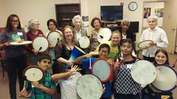 Teens and Seniors Drumming - 6-24-16 St. Dominic Vlg