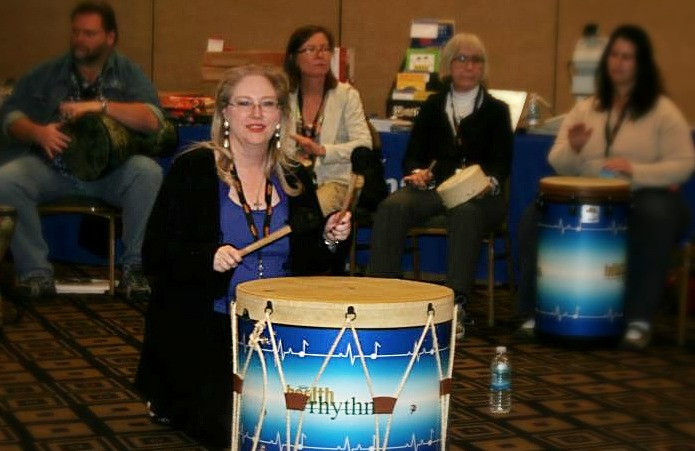 Cindy and Gathering Drum - REMO Training