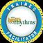 TrainedFacilitatorLogo, HealthRHYTHMS, REMO, Houston Music & Wellness Center, Drum Circle Facilitator, Drumming for Health