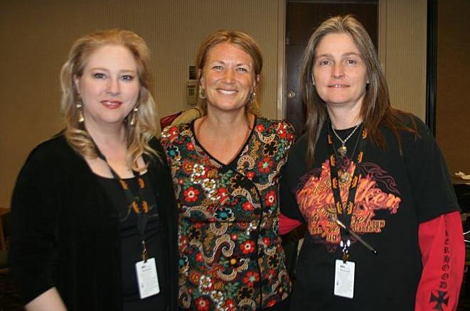 Cindy St. Cyr, Christine Stevens, Jackie St. Cyr - REMO HealthRHYTHMS Training