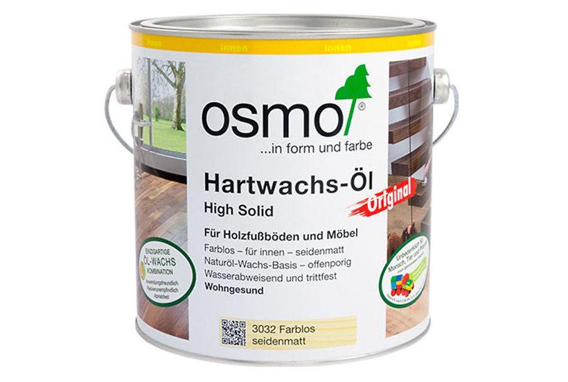 HARTWACHS-ÖL ORIGINAL  0,75 ltr. Farblos seidenmatt Nr.: 3032 inkl.19% MwSt.