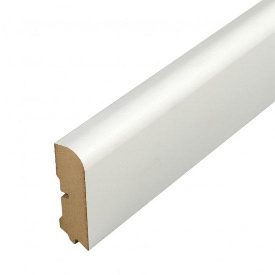 MDF 609 Sockelleiste weiß lack. UM Preis/lfm inkl.19% MwSt.