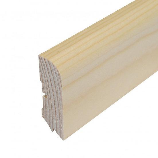 609 Sockelleiste Kiefer lack. lack. 20x60mm Preis/lfm inkl.19% MwSt.