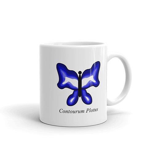 Datavizbutterfly - Contourus Plotus - Mug