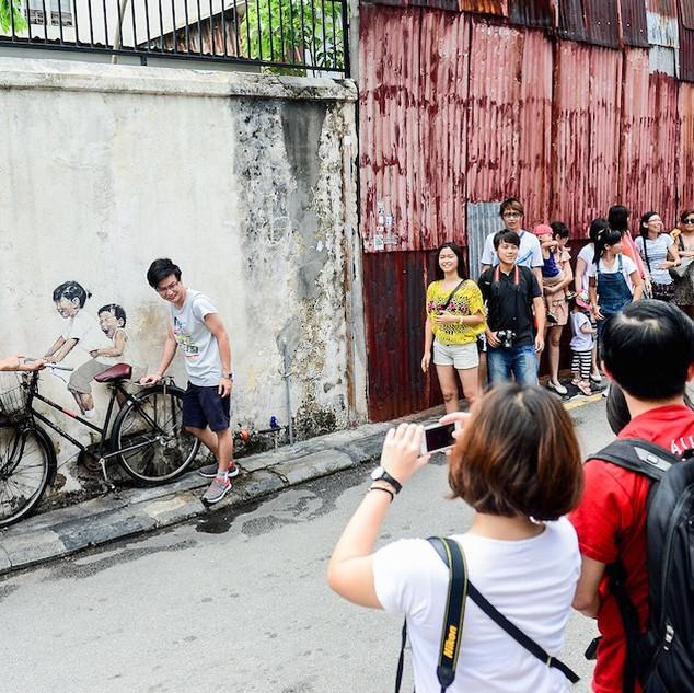 Penang Art Street