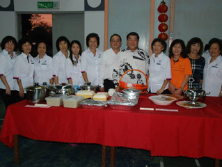 Organised Hua Chung Chinese Food
