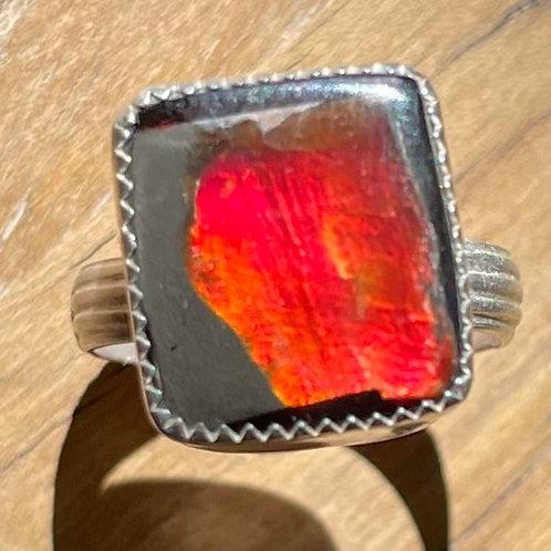 Fire Opal Size