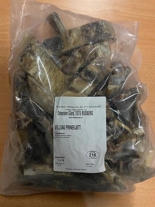 Pinnekjøtt av villsau 1.3kg. ( pakker på 1.2 -1.6kg )