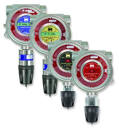 Sistemas fijos de detección de gases