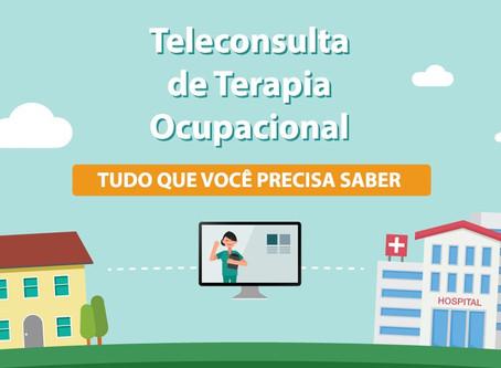 TUDO SOBRE TELECONSULTA DE TERAPIA OCUPACIONAL