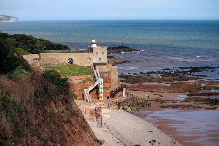 Jacobs Ladder in Sidmouth