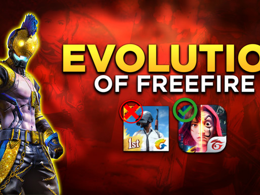 Evolution of free fire official and how to play free fire