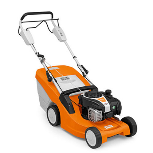 RM 443 T Versatile petrol lawn mower with 1-speed drive
