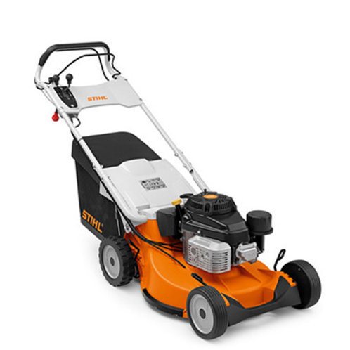 RM 756 GS Professional petrol lawn mower with 3-speed gearing