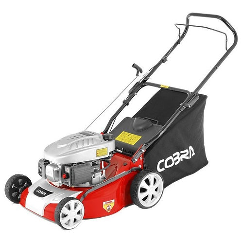 "Cobra M40C 16"" Cobra Powered Push Lawnmower"