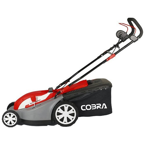 "Cobra GTRM34 13"" Electric Mower with Rear Roller"