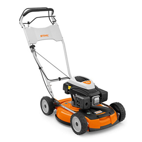 RM 4 RTP Robust and powerful professional petrol mulching mower