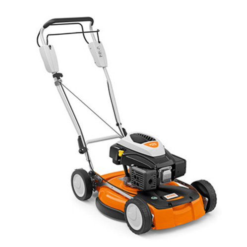 RM 4 RT Robust petrol mulching mower with 1-speed drive