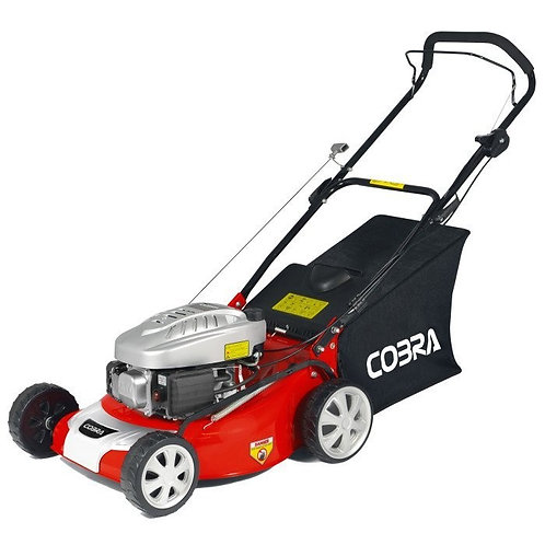 "Cobra M46C 18"" Cobra Powered Push Lawnmower"