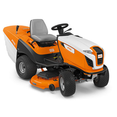RT 6127 ZL Ride-on mower featuring STIHL's widest cutting deck