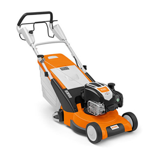 RM 545 VR Powerful petrol lawn mower with rear roller
