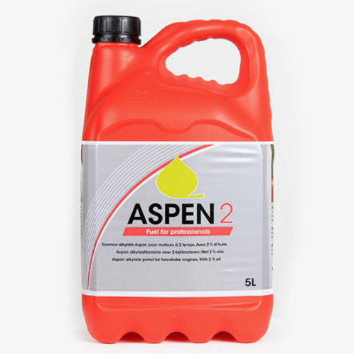 ASPEN 2 STROKE ALKYLATE PETROL / FUEL 5 LITRE FOR TWO STROKE GARDEN MACHINERY
