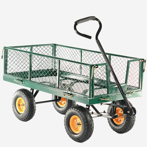 GCT300 300kg Hand Cart with drop down sides