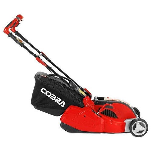 """Cobra RM4140V 16"""" Li-ion 40V Cordless Rear Roller Mower"""