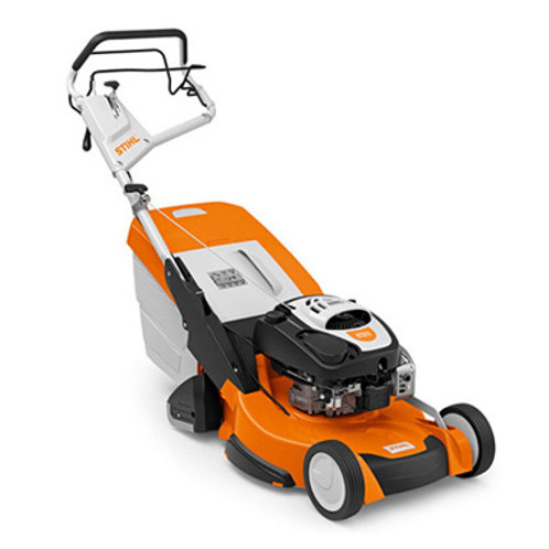RM 655 RS High performance, professional petrol lawn mower with rear roller