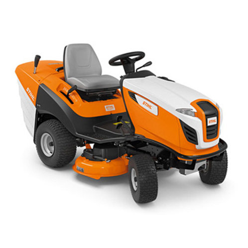 RT 5097 Z High performance ride-on mower with twin-cylinder engine
