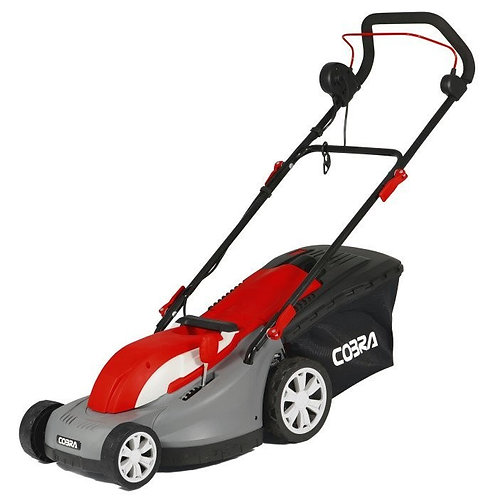 """Cobra GTRM38 15"""" Electric Mower with Rear Roller"""