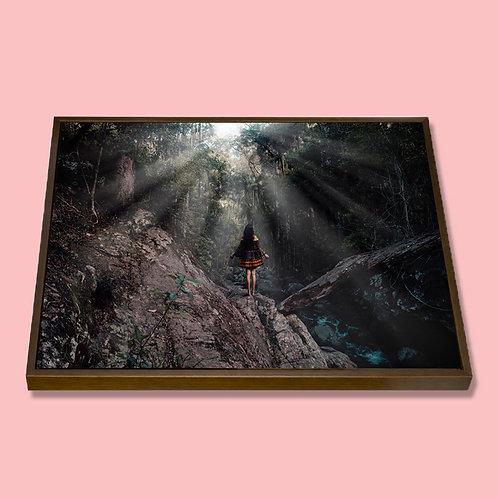 """Framed Canvas 8x10"""""""