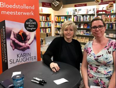 Karin Slaughter en Rosi Reubsaet